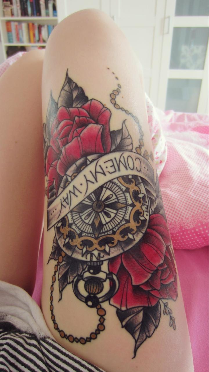 mein erstes tattoo von sarah b bolen. Black Bedroom Furniture Sets. Home Design Ideas