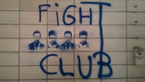 Fight Club Grafitti
