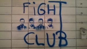 Fight Club Grafitti