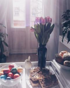 Festtagsfrühstück zu Ostern