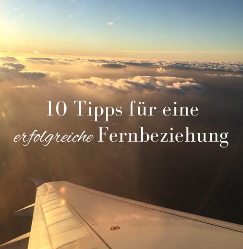 10 Tipps für eine erfolgreiche Fernbeziehung