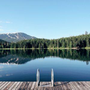 Lost Lake, Rocky Mountains
