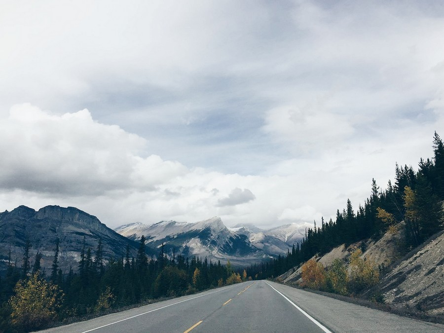 Icefields Parkway - Rocky Mountains