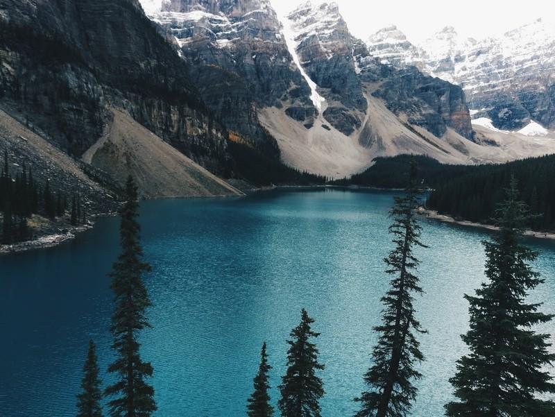 Moraine Lake Westkanada