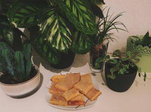 Zitronenschnitten Kuchen Rezept