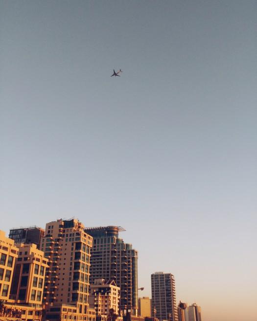 flugzeug tel aviv