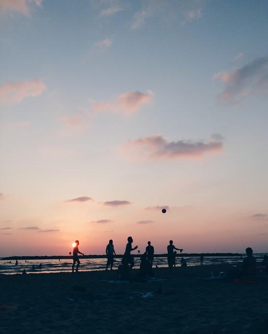 Bograshov Beach Tel Aviv