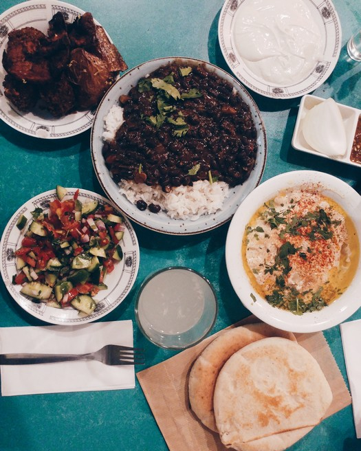 Israeli Food Tel Aviv