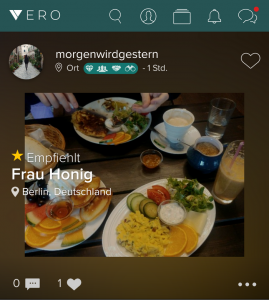 Vero – News Feed