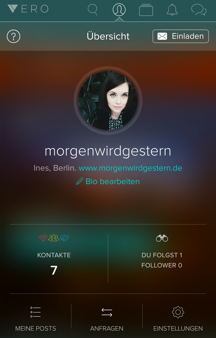 Vero True Social Profile