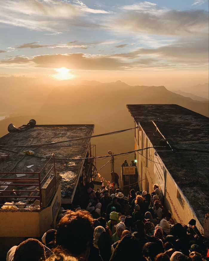 Adam's Peak Sri Lanka Abstieg