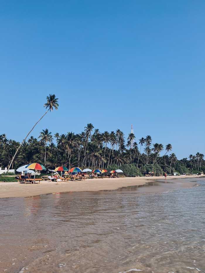 Süden von Sri Lanka Dikwella Beach