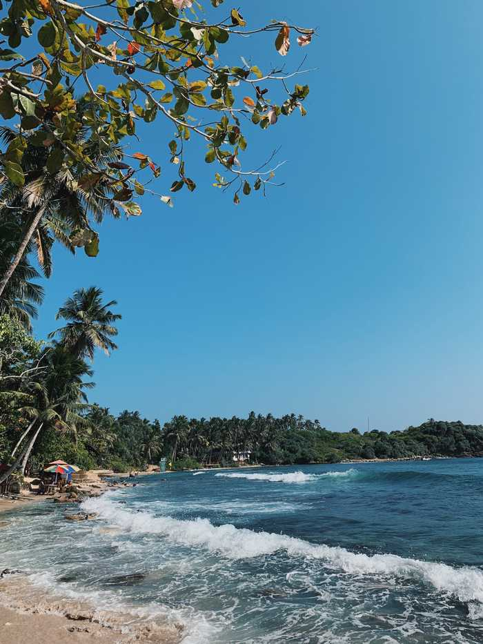 Strandzeit im Rahmen der Sri-Lanka-Rundreise