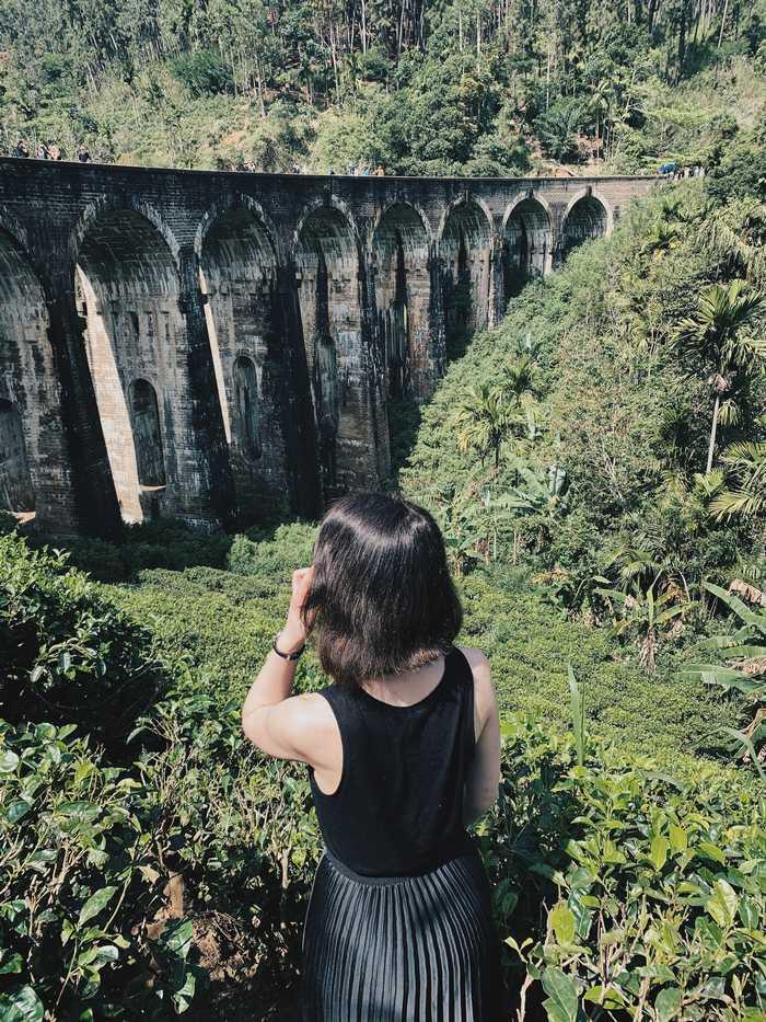 Darf auf keiner Sri-Lanka-Route fehlen: die nine Arch Bridge
