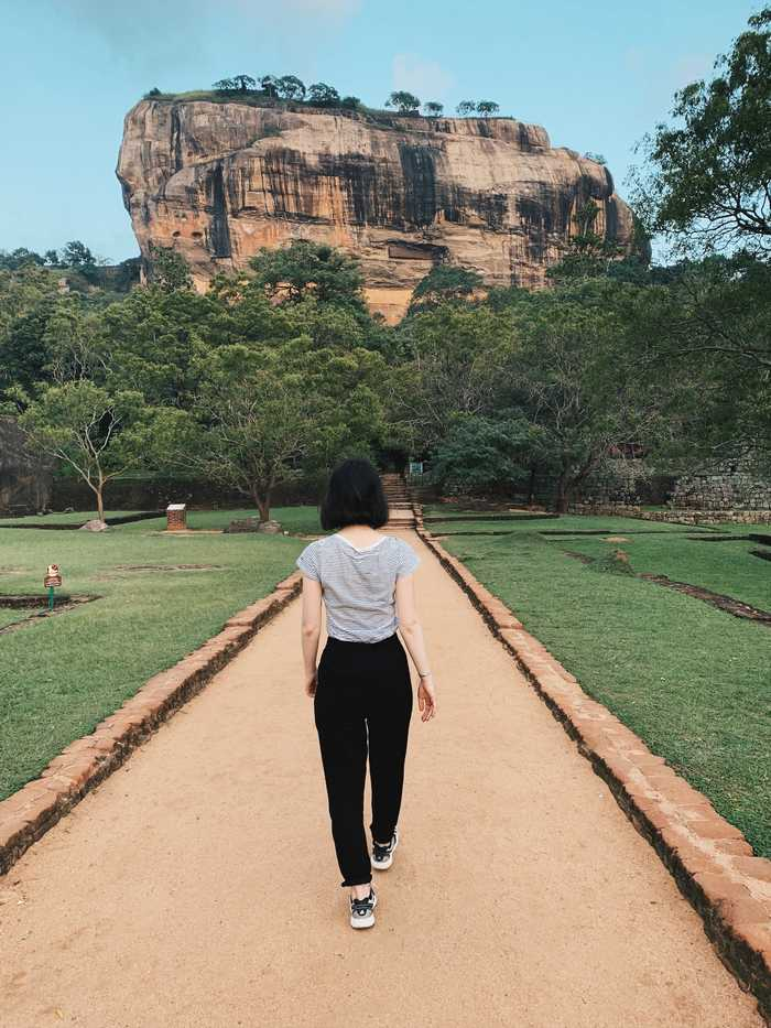 Lion Rock Sigiriya Sri Lanka