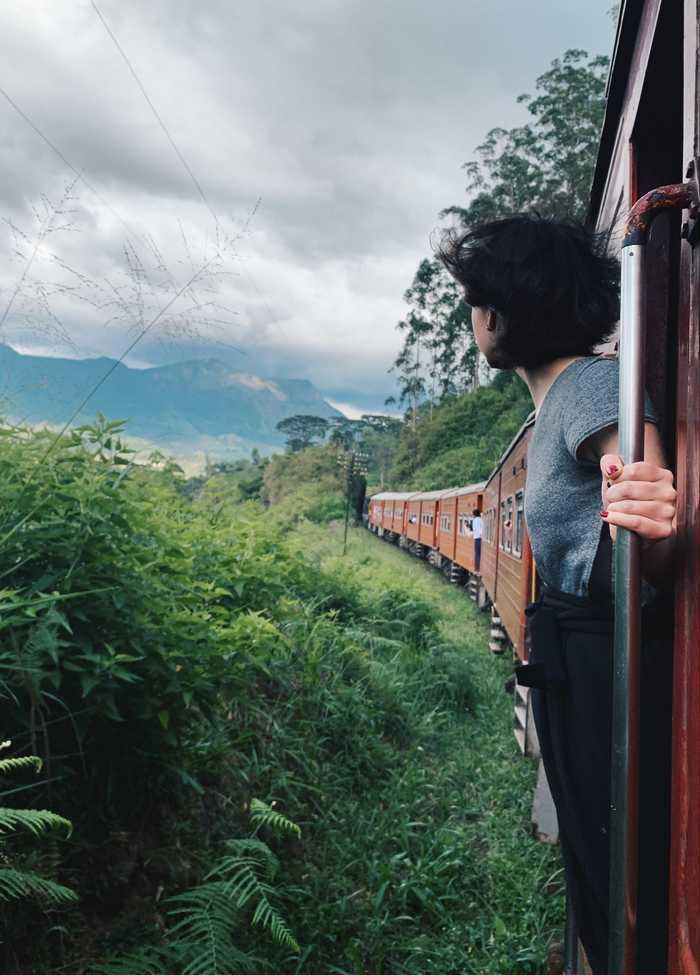 Zugfahren Zentrales Hochland