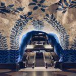 T Centralen Stockholm Metro Art