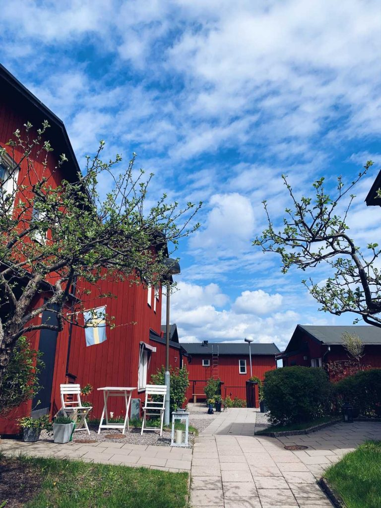 Vaxholm Schweden nahe Stockholm