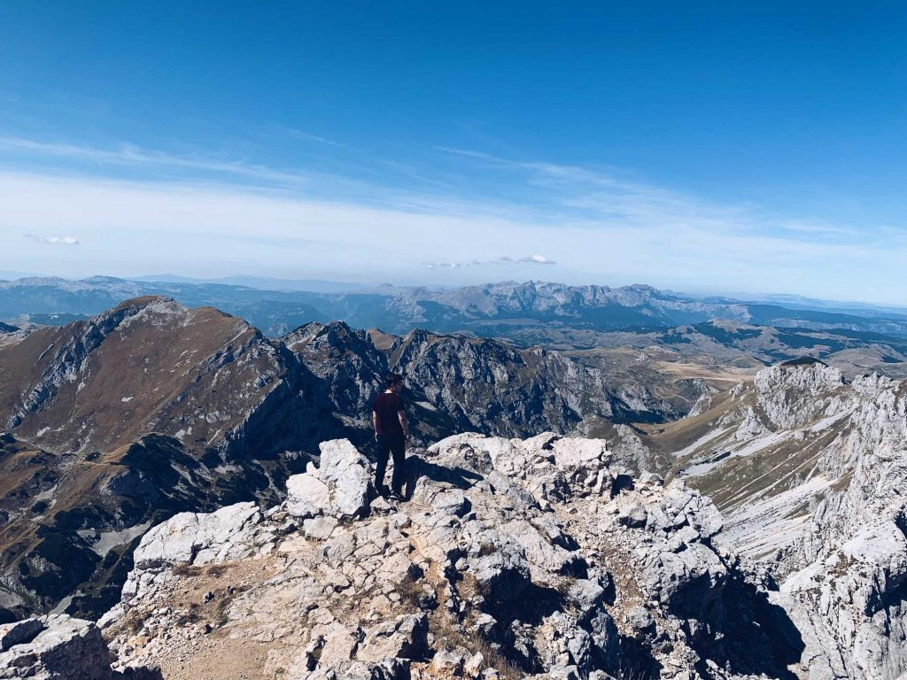 Durmitor Nationalpark Bobotov Kuk Gipfel Montenegro