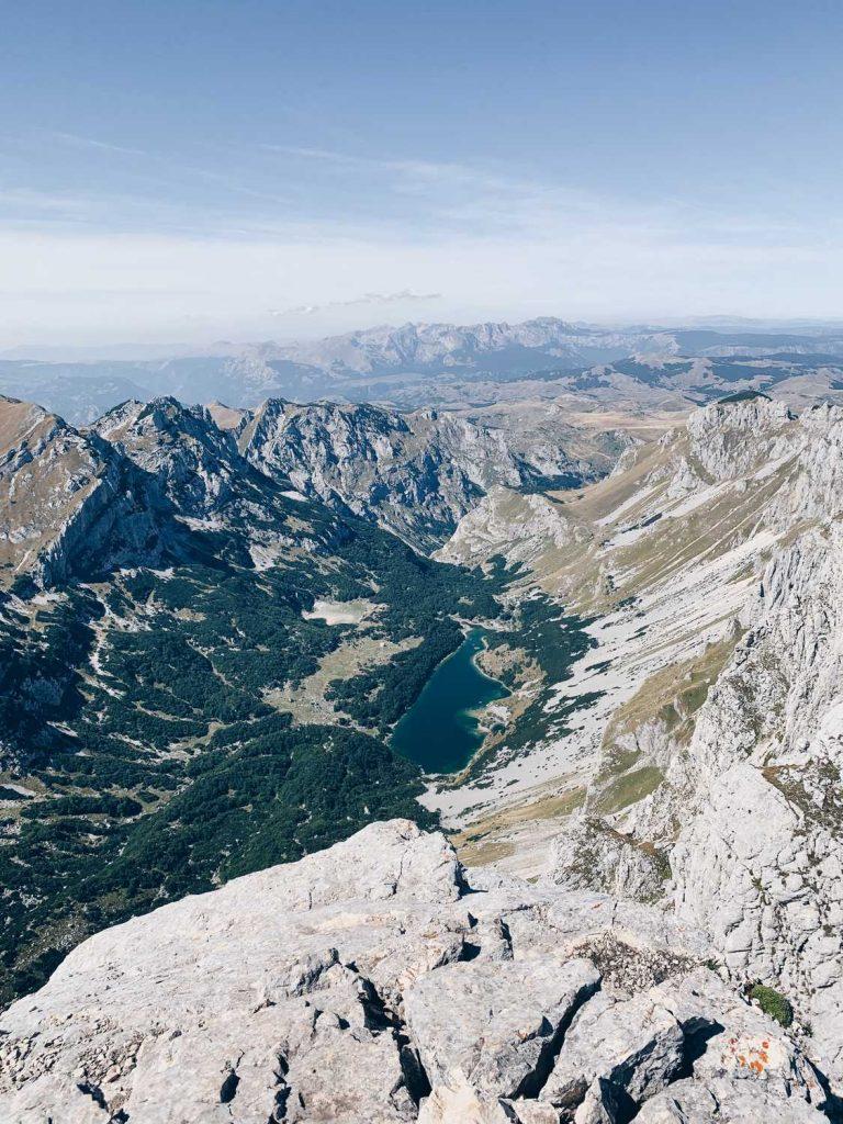 Durmitor Nationalpark Bobotov Kuk Veliko Skrcko Jezero Montenegro