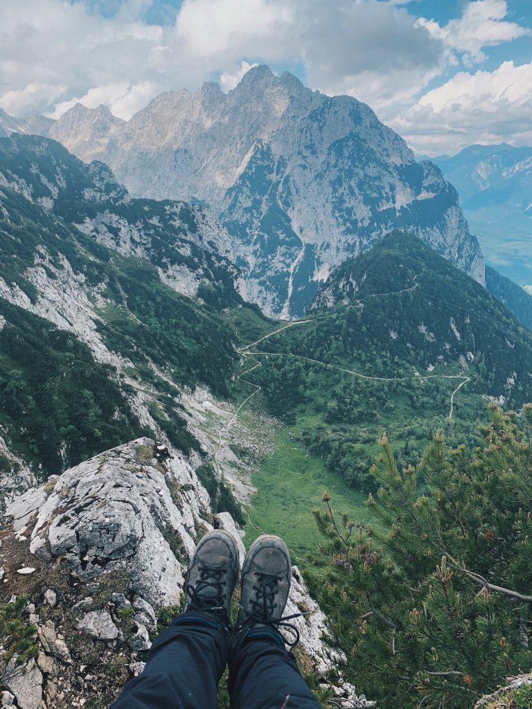 Garmisch-Partenkirchen Wandern Kreuzeck Gipfel
