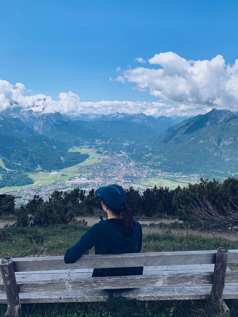 Garmisch-Partenkirchen Wank Ausblick