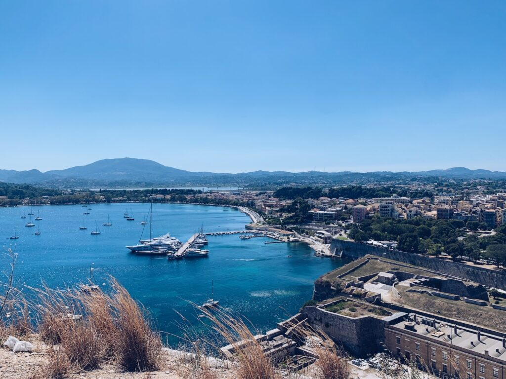 Festung Korfu-Stadt Korfu Griechenland