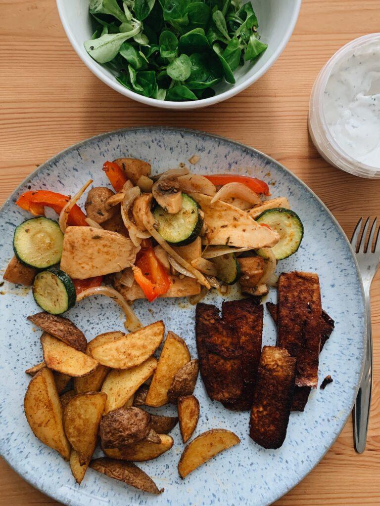 Vegetarische Gerichte Ofengemüse