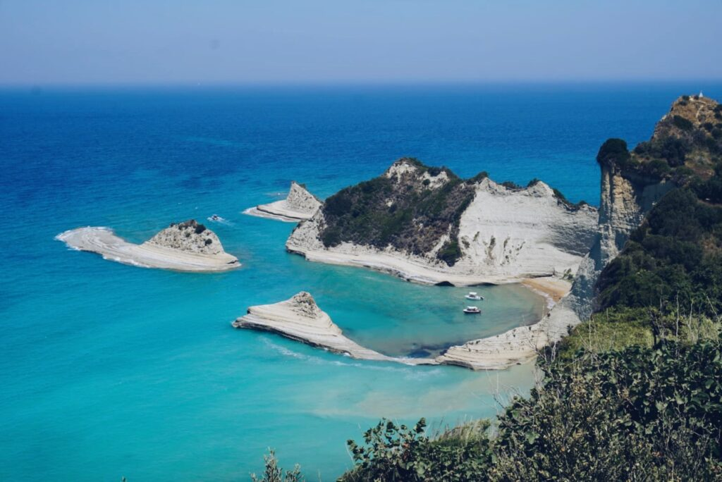 Korfu Kap Drastis Griechenland